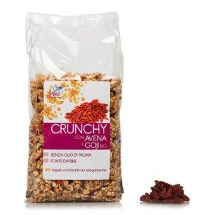 Crunchy Avena e Goji BIo 375g