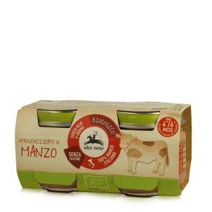Omogeneizzato di Carne di Manzo 2 x 80 g