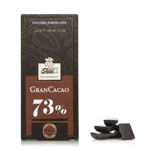 Tavoletta di Cioccolato fondente extra 73% Gran Cacao 100g