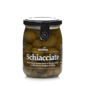 Olive Schiacciate al Finocchietto 260g