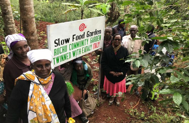 Eataly für die Slow-Food-Gärten in Afrika