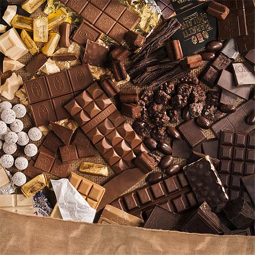 Chocolat et pralinés
