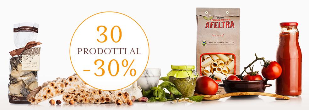 30 prodotti al -30%