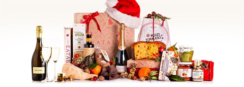Tanti cesti regalo per festeggiare il Natale