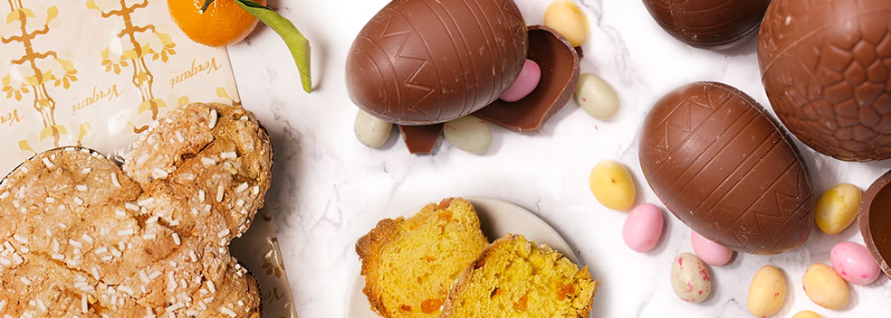 Traditional Italian Easter sweets and treats