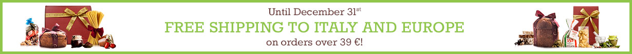 Amazing Offer: Free shipping to Italy and Europe on orders over 39 €!
