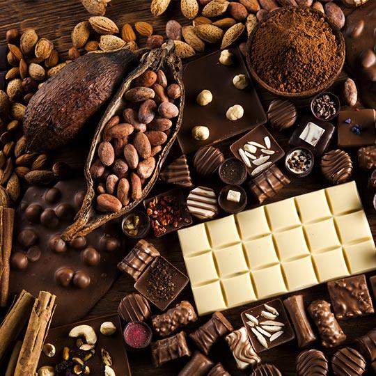 Le facce del cioccolato