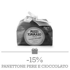 Tommaso Muzzi - Panettone Pere e Cioccolato 1Kg