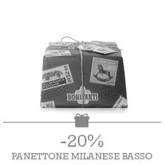 Bonifanti - Panettone Milanese Basso 1kg