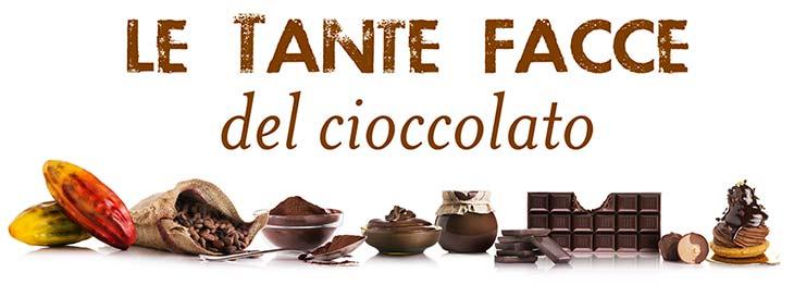 Le tante facce del cioccolato