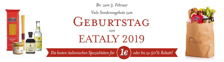 Eataly Geburtstagsangebote | Eataly