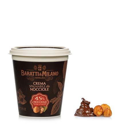 Baratti & Milano - Crema Spalmabile alle Nocciole 200g