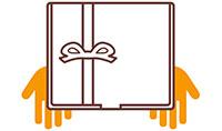 3. Ricevi tu il pacco o spediscilo direttamente al festeggiato!