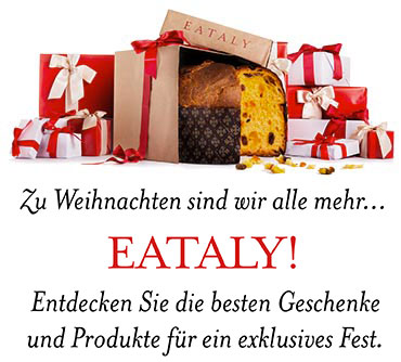 Zu Weihnachten sind wir alle mehr... Eataly.