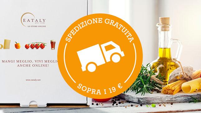 Spedizione gratuita su tutti gli ordini in Italia e in Europa sopra i 19 euro!